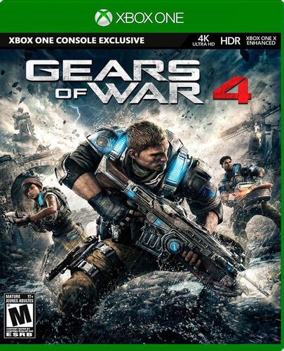 ..:: Gears Of War 4 En 4k::.. Para X Box One