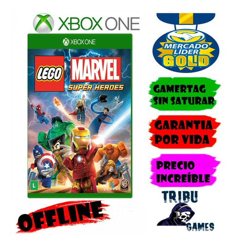 Lego Marvel Super Heroes Xbox One Modo Local
