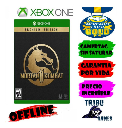 Mortal Kombat 11 Premium Xbox One Modo Local