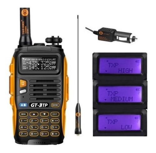 8w Radio Portatil Baofeng Gt-3tp Mark Iii Vhf/uhf Tri-power
