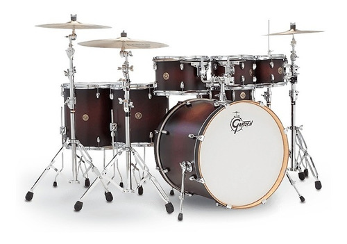 Bateria 6 + 1 Piezas Cereza Gretsch Catalina Maple Cm1e826p