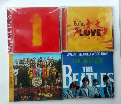 Cd The Beatles - 1 -hollywood Boul-love-sgt. Nuevo Original