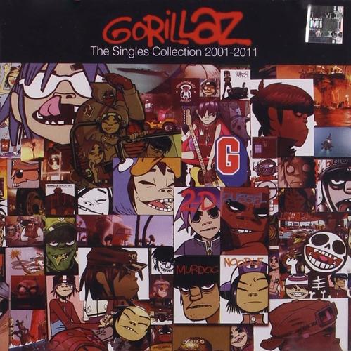Cd The Singles Collection  Gorillaz Original Nuevo