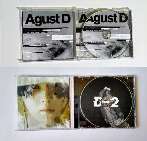 D2 + Agust D | Mixtape-álbum Físico | Fanmade | Kpop