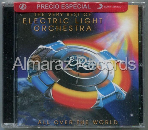 Electric Light Orchestra All Over The World Very Best Of Cd