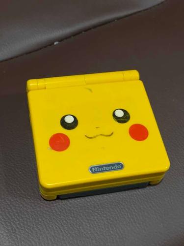 Gameboy Advance Sp Edición Pikachu Original Doble Luz