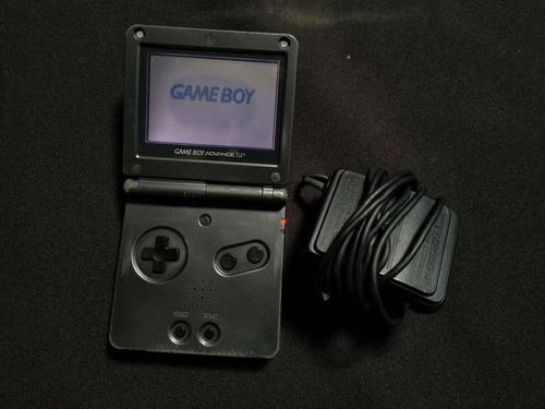 Gameboy Advance Sp Negro 001 - Detalle En Pantalla B