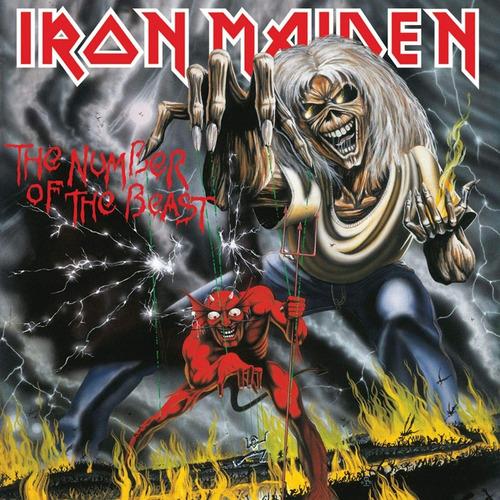 Iron Maiden The Number Of The Beast Vinyl (nuevo)
