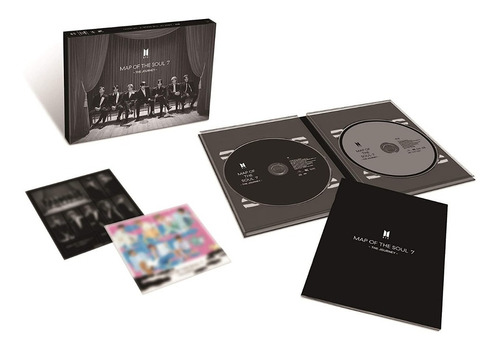 Map Of The Soul: 7 The Journey Ver. A (con Blu-ray)
