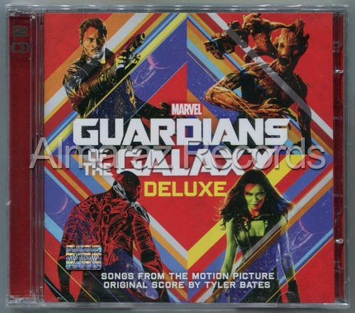 Marvel Guardians Of The Galaxy Deluxe Edition 2cd