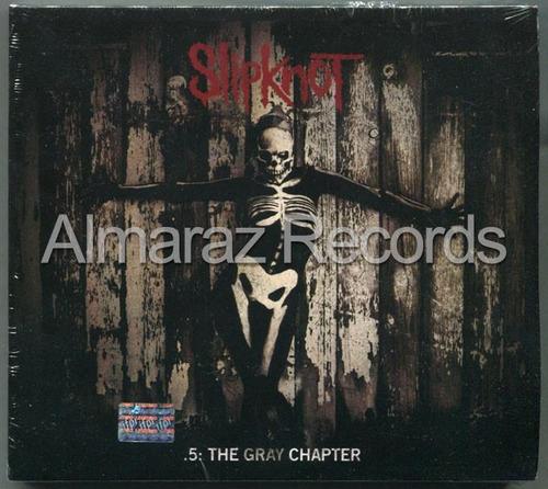 Slipknot.5 The Gray Chapter Deluxe 2cd - Digipak