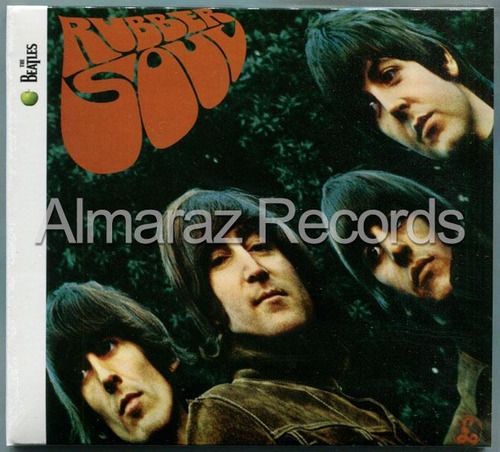 The Beatles Rubber Soul Cd -
