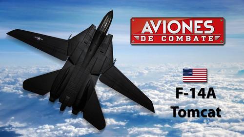 Aviones De Combate Salvat, Modelo #33, F-14a Tomcat