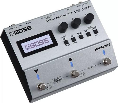 Ve-500 Boss Multi Efectos Vocal Performer Armonías Vocales