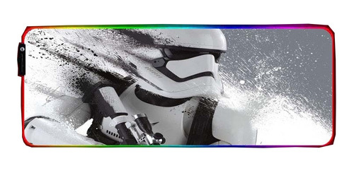 Mousepad Led Star Wars Imperial Stormtrooper Rgb Gamer 80x30