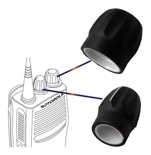 Par De Perillas Botones Radio Motorola Ep450 Pro Pro
