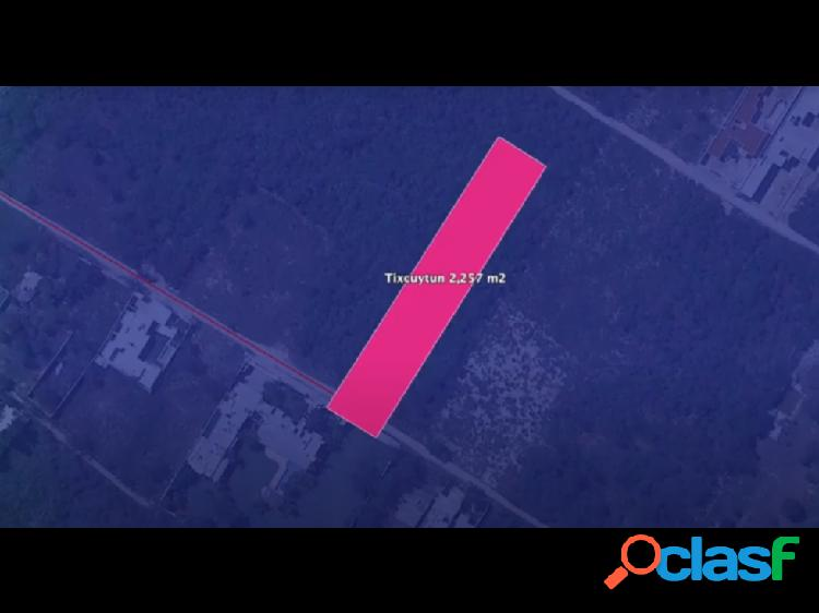 Terreno Residencial en Venta Mérida Zona Cabo Norte