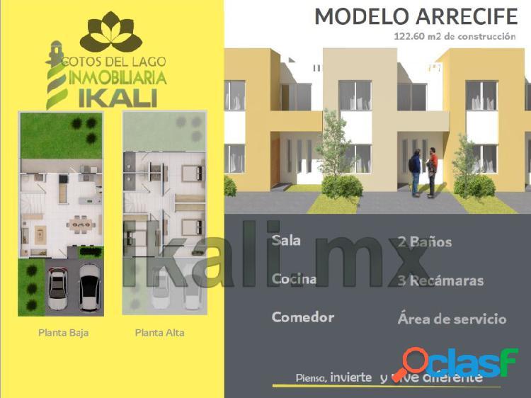Venta casas nuevas Col. Enrique Rodriguez Cano Tuxpan