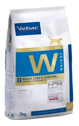 Alimento Hpm Cat Weight Loss & Control 3 Kg