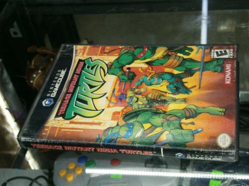 * Longaniza Games * Game Cube Teenage Mutant Ninja Turtles