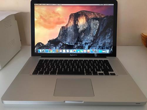Macbook Pro 15 Pulgadas Finales  - Laptop Apple