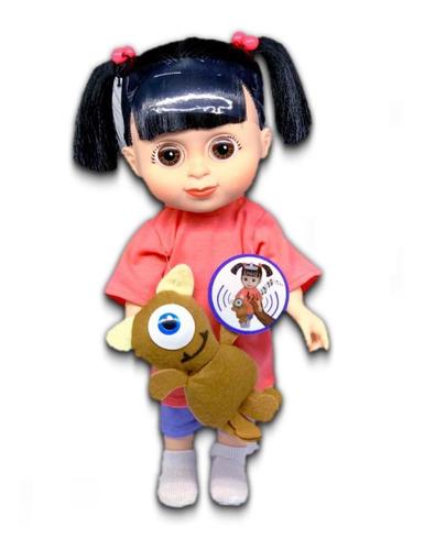 Muñeca Niña Boo Monster Inc Con Sonido 30cm