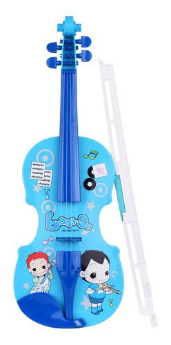 Pequeños Violín Con Arco De Violín Divertido Musical Educ