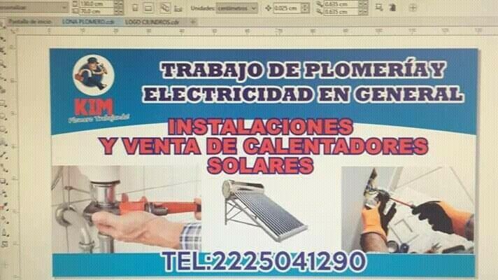 Plomeria y electricidad en general kim