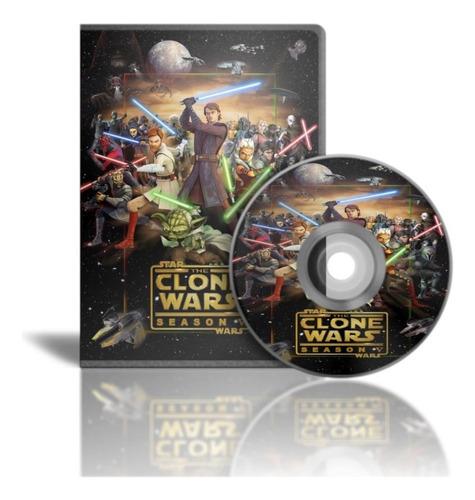 Star Wars La Guerra De Los Clones Serie Completa