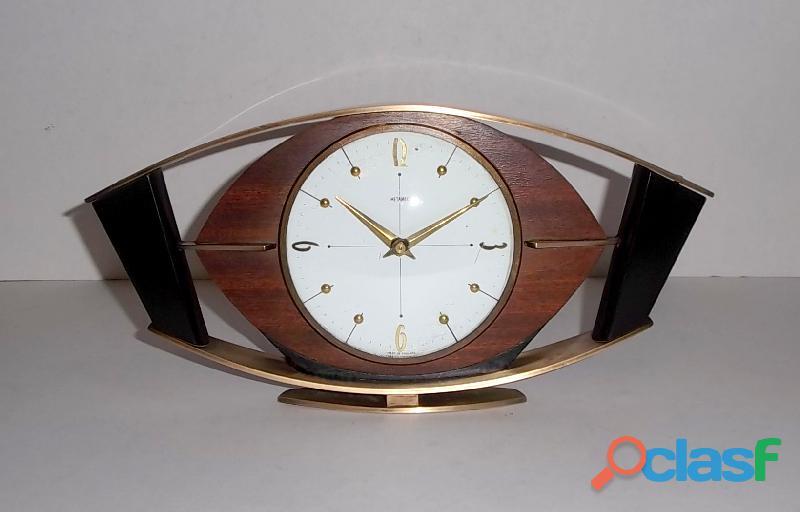 Antiguo Reloj Metamec electromecánico de Inglaterra 60s