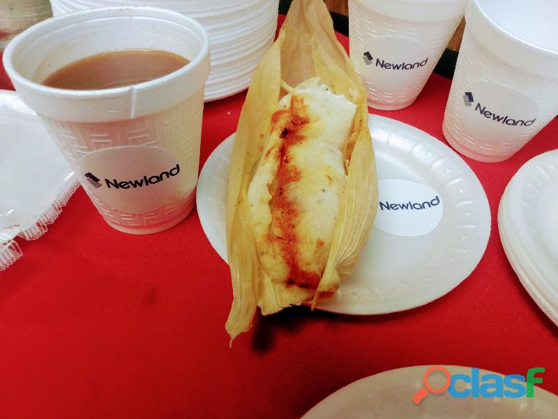 Tamales para eventos catering profesional