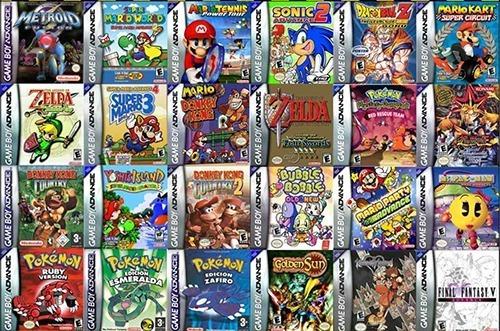 Juegos De Game Boy Advance + Emulador Android Y Pc