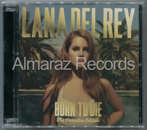 Lana Del Rey Born To Die The Paradise Edition 2cd