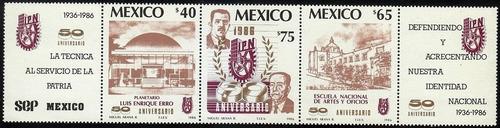 México : Tira 50 Aniversario Del Ipn;
