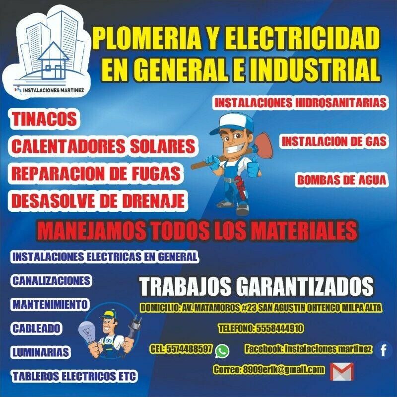Plomeria y electricidad