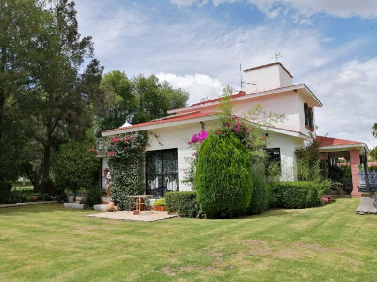 Casas en el fairway del club de golf Tequisquiapan