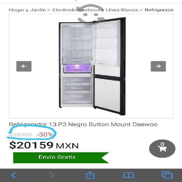 Daewoo - Refrigerador de 13 pies cúbicos