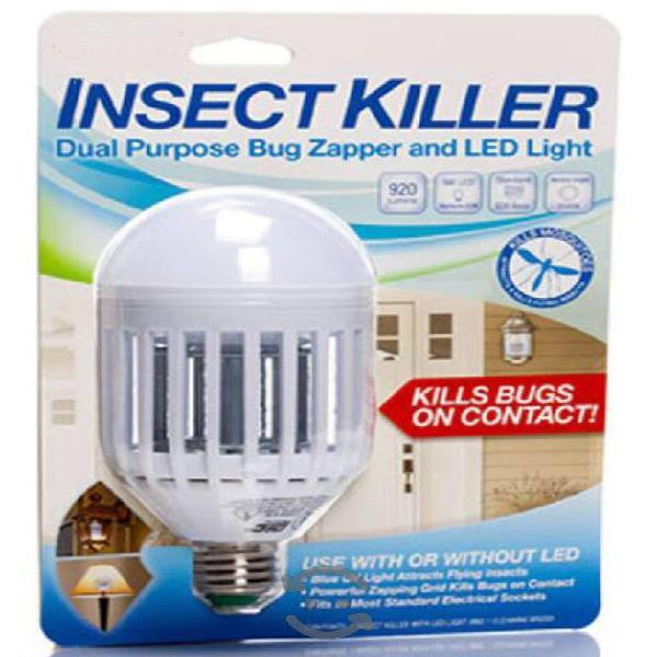 Eliminador De Insectos De Doble Propósito Y LED