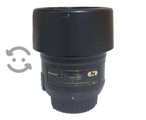 Lente Nikon Af-s Micro-nikkor 60mm F/2.8g Ed
