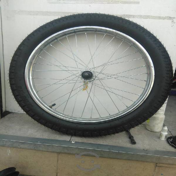 Llanta para triciclo de carga Lateral