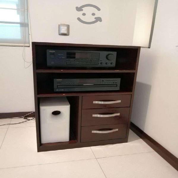 Mueble para tv aparatos electrónicos de madera