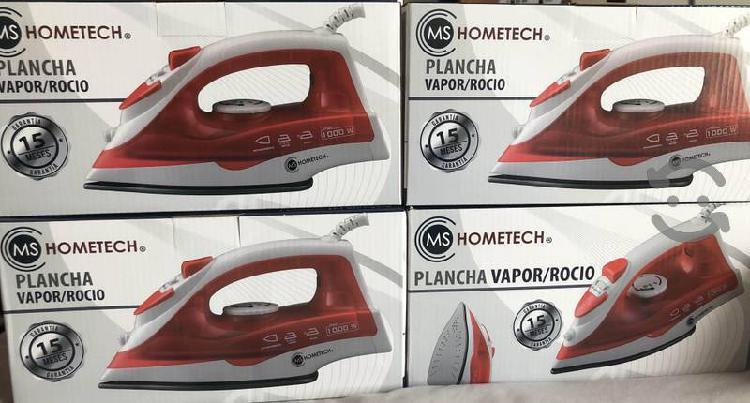 Plancha de vapor/roció Hometech nuevas