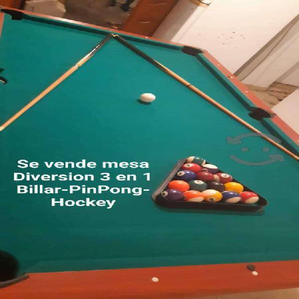 Vendo mesa de Billar 3 en 1