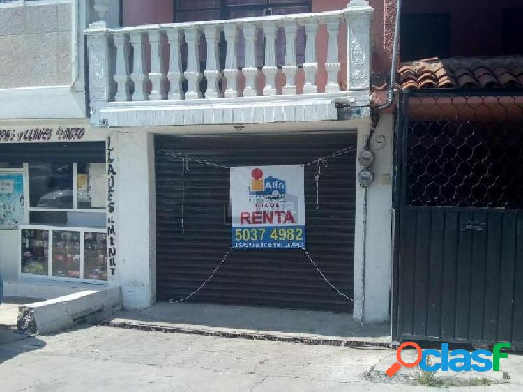 local en renta en la colonia carmen serdan coyoacan, local