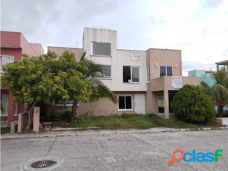 Bahía Azul, Cancún Quintana Roo venta casa $2,700,000