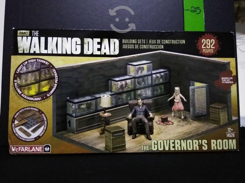 McFarlane toys set para armar the walking dead