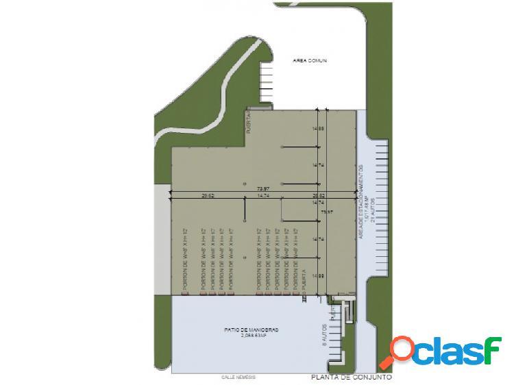 Nave en renta en parque industrial en Guadalupe HZ
