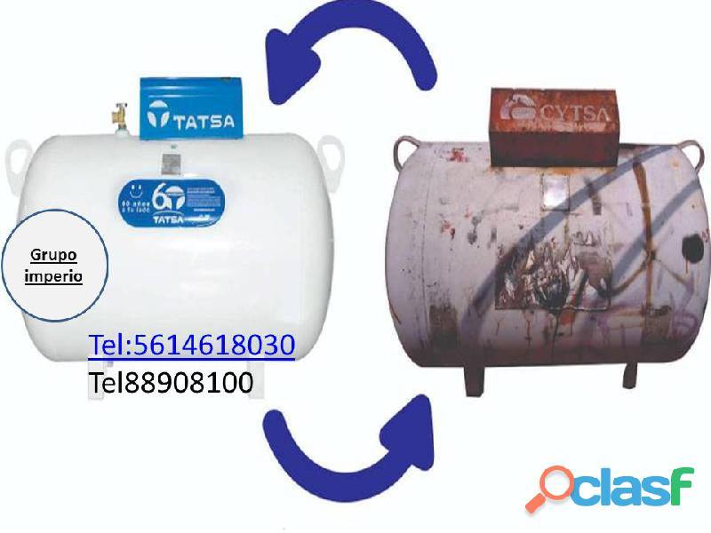remplazo de tanque TATSA de 300litros a solo$5,700