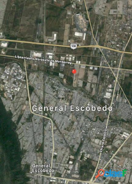 Terreno comercial en renta en Agropecuaria, General