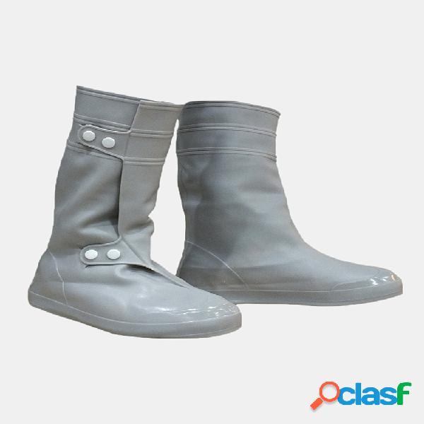 CLORURO DE POLIVINILO Mujer Funda para zapatos de lluvia